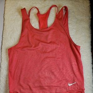 Nike dri fit work out tank size small